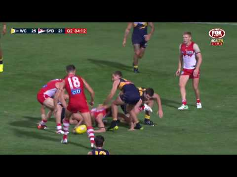 Round 4 AFL - West Coast v Sydney Swans Highlights