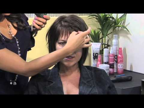 How to Style Bangs With Styling Wax : Bangs & Styling Hair