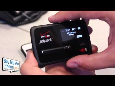 Verizon MiFi JetPack 4620L 4G LTE Mobile HotSpot