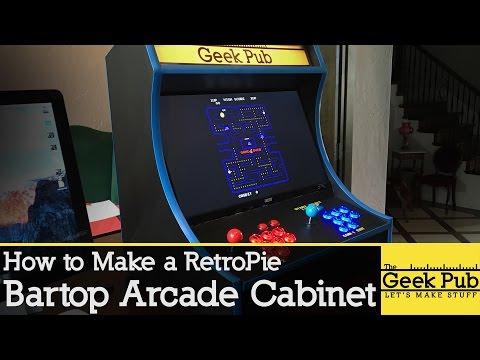 Build a RetroPie Bartop Arcade Cabinet with a Raspberry Pi