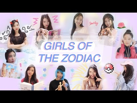 GIRLS OF THE ZODIAC ☾ what your zodiac sign says about you