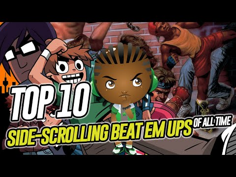 Top 10 2D Side Scrolling Beat 'em up of All Time