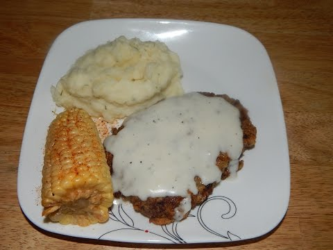 Cube Steak Recipe - Country Fried Steak and Cream Gravy