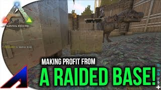 Making Profit From A Raided Base! | Solo Official PvP Servers ARK: Survival Evolved | Ep 62