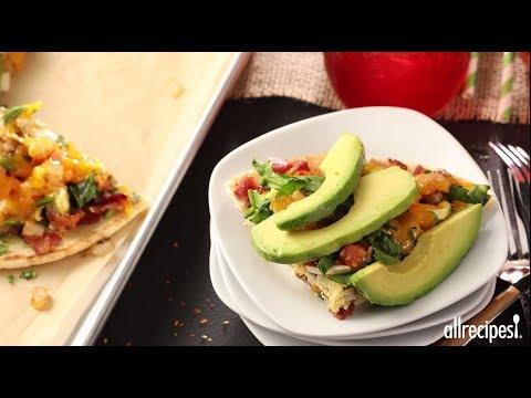 How to Make Pita Pizza | Breakfast Recipes | Allrecipes.com