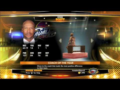 NBA 2K13 Association Season 2 Recap