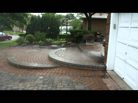 Repair, cleaning and sealing paving stones