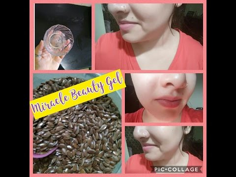 Miracle Beauty Gel with Flaxseed #Get glowing spotless skin instantly