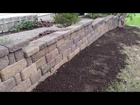 Hanover retaining wall renovation Keystone Country Manor - Ryan's Landscaping 717-632-4074