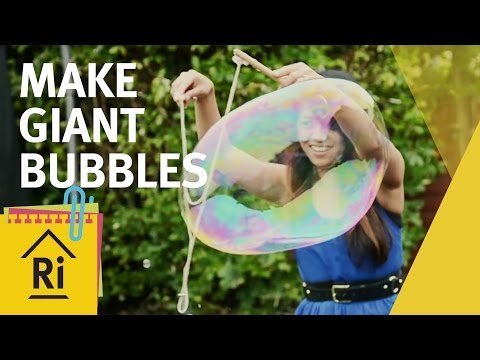 Giant bubbles - Science with children - ExpeRimental #3