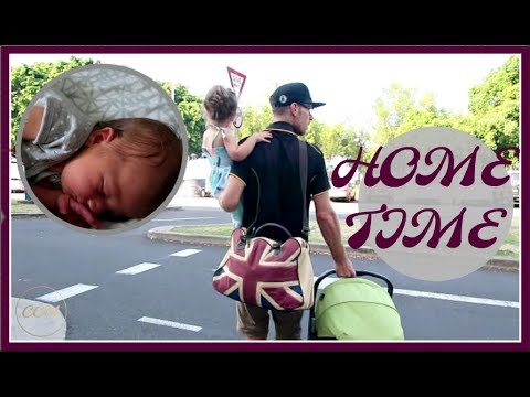 BRINGING BABY HOME FROM THE HOSPITAL // VLOG //