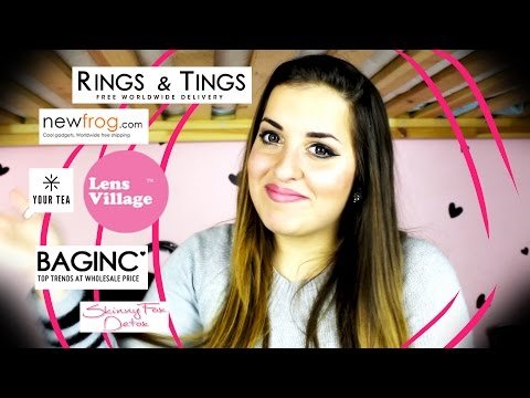 ► Collaboration Time!  ► New Frog, Baginc, LensVillage, Rings and Tings, Detox Tea!