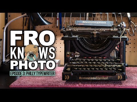 The Return of Typewriters (Photographing Small Businesses) | FroKnowsPhoto Show EP003