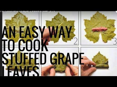 Copy of Arabic Recipe #12 -Stuffed Grape Leaves ورق عنب