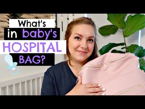 WHAT'S IN MY BABY'S HOSPITAL BAG?