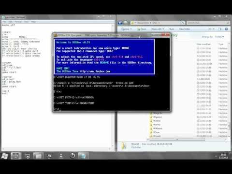 How to make batch file menus (for DOS/DOSBox)