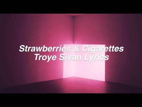 Strawberries & Cigarettes || Troye Sivan Lyrics