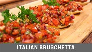 Download Italian Bruschetta Easy Recipe Video