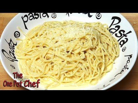 Creamy Lemon Spaghetti   One Pot Chef