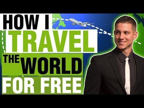 How to Travel Around the World for FREE | How to Find Cheap Flights in 2018!