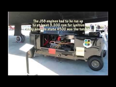 SR-71 Starting - AG330 start cart