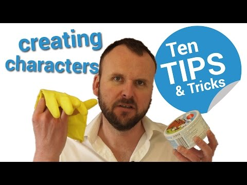 10 Tips For Creating Characters for Movies or Novels