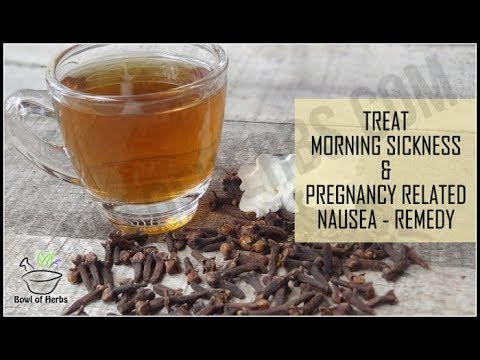 Cloves to treat nausea or morning sickness during pregnancy - Home remedy