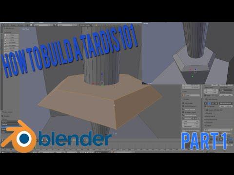 How To Build a Tardis 101 - Part 1 - Interior