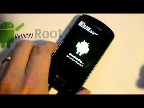 Samsung Stratosphere CWM Recovery install