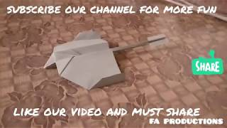 How to make a Paper Airplane - BEST Paper Planes - Easy Tricks I FA PRODUCTIONS