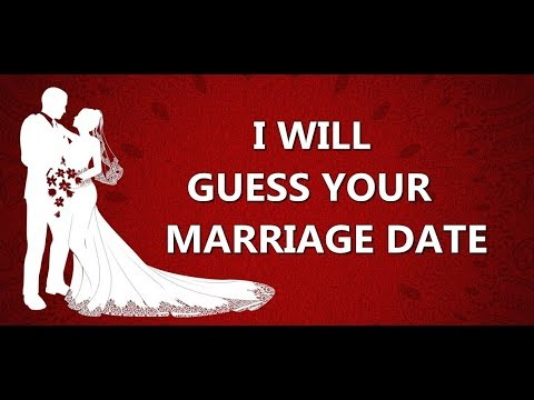 Mathematically Know your Marriage Date - 2017 | Marriage Predictor