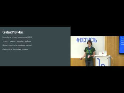 Droidcon NYC 2016 - Interprocess communication on Android