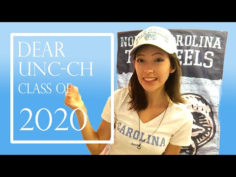 To the New Freshmen at UNC-CH