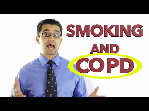COPD and SMOKING: Stop smoking and prevent COPD