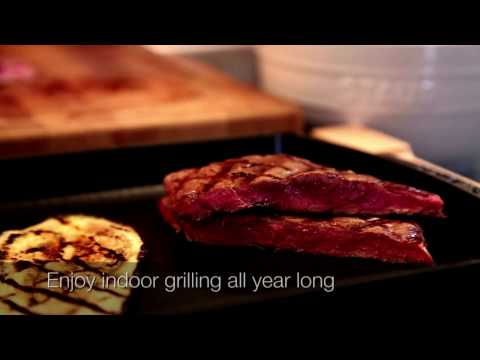 How to use the Staub grill pan