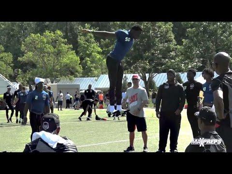 Ridiculous 46 Inch Jump by Josh Imatorbhebhe (North Gwinnett, GA)