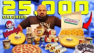 25,000 CALORIE STRONGMAN CHEAT DAY