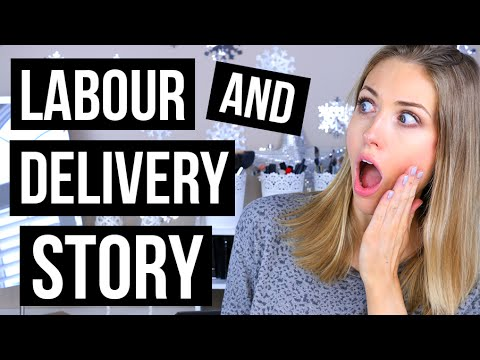 LABOUR & DELIVERY STORY OF LUKE || RachhLoves
