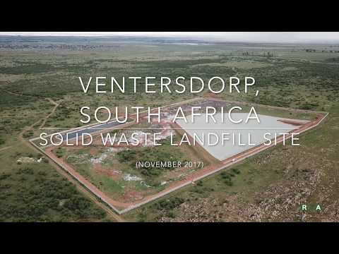 Ventersdorp, South Africa - Solid Waste Landfill Site