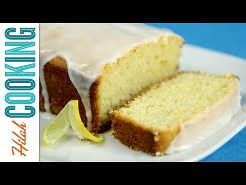 How to Make Lemon Pound Cake   Lemon Pound Cake Recipe   Hilah Cooking