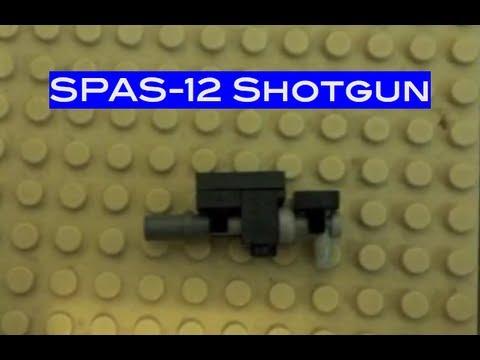 How to Make a Lego SPAS-12 Shotgun