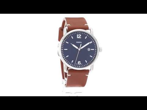 Fossil The Commuter Leather - FS5325 SKU:8887627