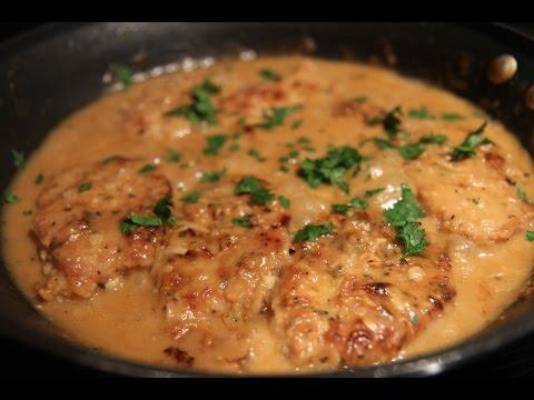 Smothered Pork Chops - Cooked by Julie episode 302
