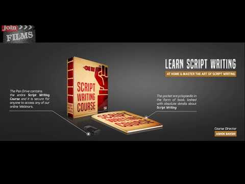 Script Writing Course for Beginners - स्क्रिप्ट लिखना सीखे घर से | Unboxing Video - Joinfilms