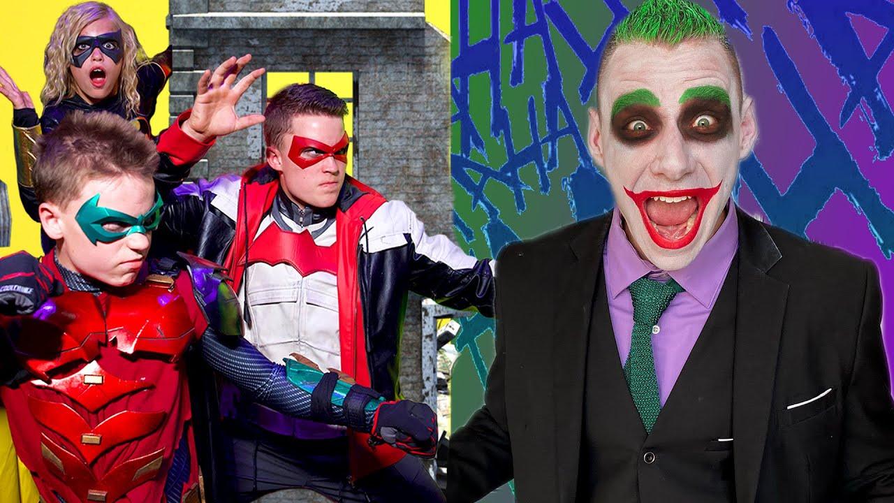 The Bat & Ninja Kidz Team-Up to Fight Evil Clowns!