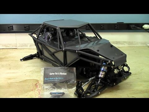 Axial Yeti Upgrade - PT 6 - Carter Fab Machine Body Panels & Sway Bar Disconects