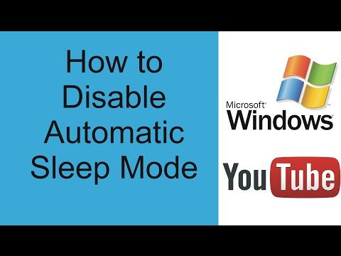 How to Disable Automatic Sleep Mode in Windows