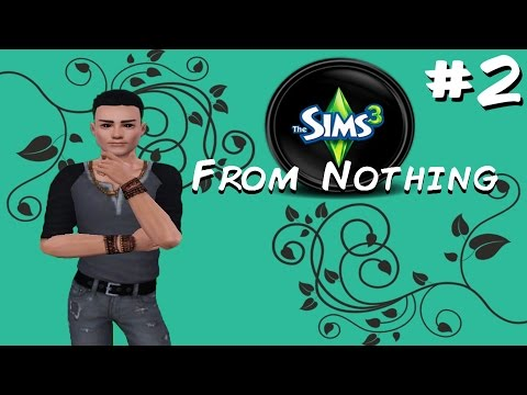 Let's Play: The Sims 3 - From Nothing - ( Part 2 ) - Donnovan, robbers and unicorns. Oh my!