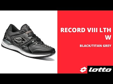 Женские кроссовки Lotto RECORD VIII LTH W (S4221