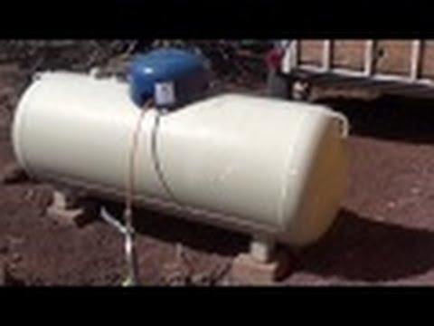 Propane Tank on the Homestead - Off Grid Living